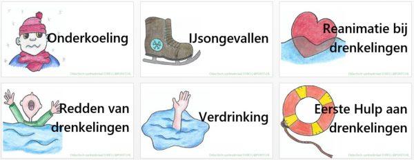 Onderwerpen waterongevallen